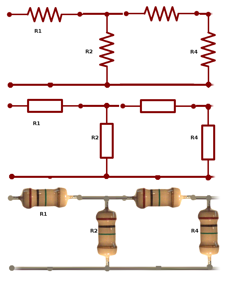 Circuito Mixto : Circuito serie paralelo mixto wikipedia watch yamudu